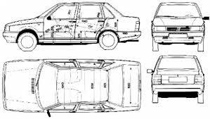 The-Blueprints.com - Blueprints > Cars > Fiat > Fiat Duna 4-