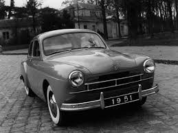 Renault Fregate wallpaper # 01 of 02, Front Angle, MY 1951, 1600x1200