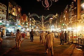Food Street in Gawalmandi,