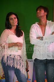 Kajol and Ajay Devgan