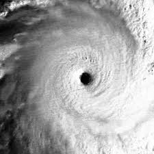 The Eye of Cyclone ZOE from
