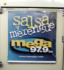 La Mega 97.9FM is the big