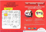 OCBC Credit Card Promotion Gifts IT SHOW 2008 Price List Brochure