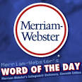 Arts podcast:Merriam-Webster's Word of the Day