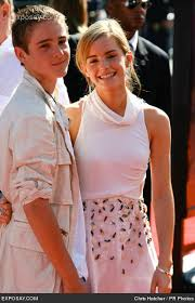 Emma Watson with brother, Alex