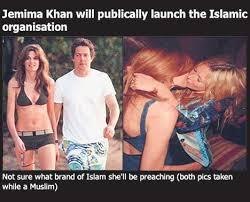 target Jemima Khan with