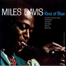 kind of blue album cover