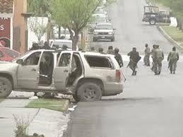 El enfrentamiento en Reynosa
