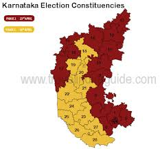 The Lok Sabha election map for