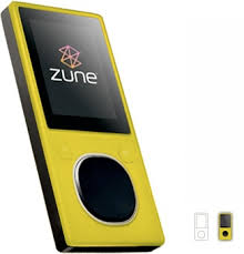 The lemon flavored Zune you see in