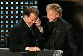 Barry Manilow joins Dick Clark on