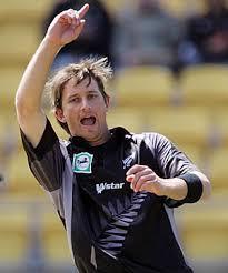 New Zealand player Shane Bond