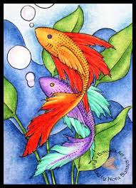 Plenty of Fish ACEO by