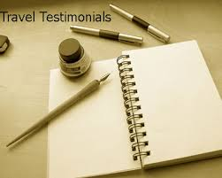 iran travel testimonial letter