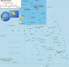 Map Marshall Islands, Majuro