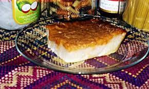 Coconut Rice - Mochi Bibinka