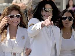 LaToya Jackson (pictured at le