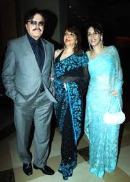 Sanjay and Zarine Khan with