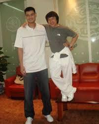 Jackie Chan, Yao Ming