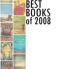 Enjoy the Best Books of 2008,