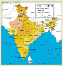 ... showing India's States ...