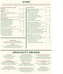 Menu for Carrabba's Italian