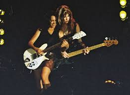 Susanna Hoffs and Michael Steele of