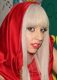 singer Lady Gaga seems to