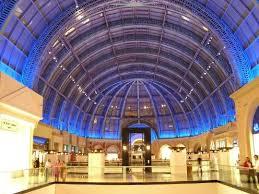 indoor shopping center,