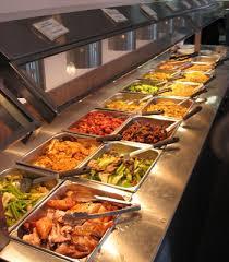 Chinese buffet restaurants