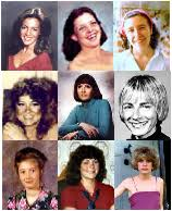 White female victims of black racist serial killer