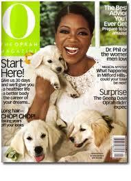 for The Oprah Magazine.