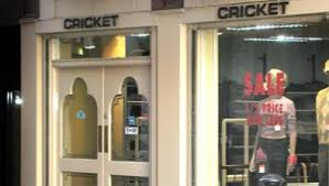 Cricket shop in Liverpool